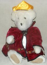 """Vermont Teddy Bear 14"""" Plush Bear Special Edition Queen Of Hearts"""