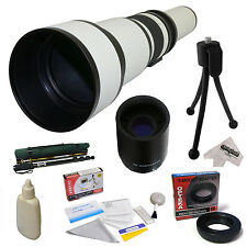 Opteka 650-2600mm HD Telephoto Lens for Canon EOS 400D 450D 500D 550D 600D 650D