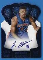 2013-14 Panini Preferred Blue Tony Mitchell Cr Au Auto 19/49 #257 140618