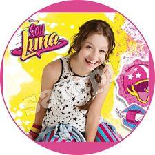 Comestible Imágen de pastel Soy Luna DVD Decoración Cocción Base tarta fiesta