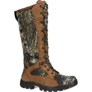 """Rocky 1570 ProLight 16"""" Waterproof Snakeproof Mossy Oak Camo Hunting Boots"""