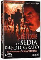 Murder Rooms La Sedia Del Fotografo DVD NUOVO SIGILLATO SHERLOCK HOLMES