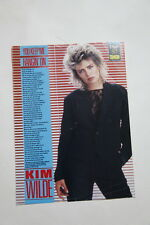 Kim Wilde 1 page clipping France You Keep Me Hangin On lyrics