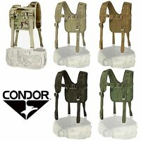 Condor 215 Tactical Adjustable H-Harness Suspenders for 241 Gen II Battle Belt