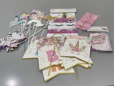 Unicorn Birthday Pary Kids Accessories