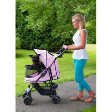 PetGear - Pet Gear No Zip Stroller Buggy PushChair  Pink - NQP