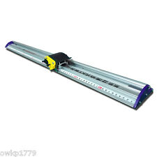 "51"" Sliding KT Board Cutting Ruler, Paper Trimmer Ruler, Photo Cutter & Ruler"
