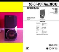 ENCEINTES chaine-hifi COLONNE SONY SS-XB500 240 Watts TBE