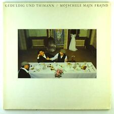 "12"" LP - Geduldig Und Thimann - Mojschele Majn Frajnd - D1095 - RAR - cleaned"
