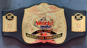 JAKKS Pacific World Tag Team Wrestling Champions 2000 Kids Replica Belt WWE