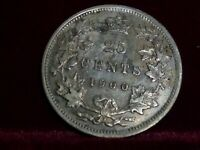 1894  CANADA HALF  DOLLAR 50 CENTS  (fifty Cents) MINTAGE 29000
