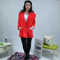 LOUIS FERAUD Womens Red Blazer Jacket SIZE UK20, XL
