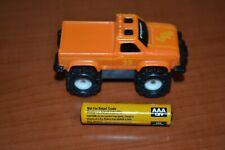 Vintage Schaper Stomper Orange Truck #23 4x4 Ford Toy Car Doesn't Run Parts