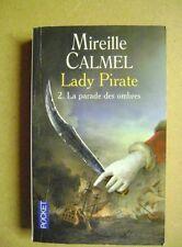 Livre de poche Lady pirate La parade des ombres  Tome 2  roman /T8