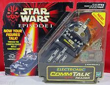 STAR WARS EPISODE 1 THE PHANTOM MENACE ELECTRONIC COMM TALK READER HASBRO #84151