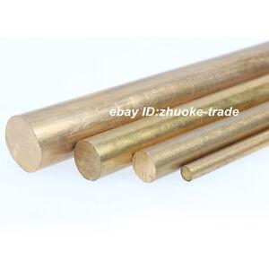 Φ50mm H62 Brass Round Rod D50mm Any Length Solid Lathe Bar Cut Stock Metal Tool