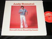 HAWAII Comedy LP ANDY BUMATAI 70s Private Issue HAWAII's Fist Stand Up Comic