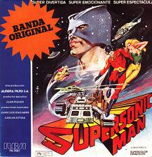 """OST SUPERSONIC MAN SINGLE 7"""" VINILO 1979 PROMOCIONAL SPAIN EXCELLENT CONDITION"""