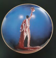 "Danbury Mint Freddie Mercury Collection 8"" Collector Plate - Magic 1986"