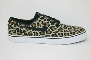 Nike SB Janoski Canvas OG Wacko Mario Leopard Mens Size 9.5 DA7074-200 Low Top