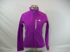 $135 Adidas Women's HT Softshell Extra Small XS Outdoor Jacket Purple W41569