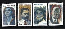 2020 Newest Forever Voices of the Harlem Renaissance 4 stamps Canceled