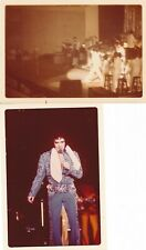 2 Original Elvis Presley Concert Real Photos
