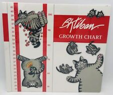 B. Kliban Cat Growth Chart With Stickers Sealed Mama Cat