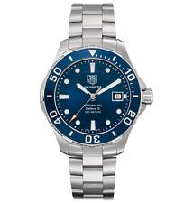 Tag Heuer Men's Aquaracer Calibre 5 Blue Stainless Steel watch WAN2111.BA0822