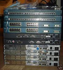 BEST CISCO CCNA CCNP CCIE LAB 2950 3524 Switches 2620XM 2501 Routers SDM CME