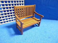 1/12 scale Dolls House Miniature Garden Bench DHD 99815