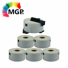 5+1 Rolls Compatible DK-11208 BROTHER White Large Address Labels – 38mm x 90mm