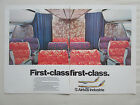 9/1980 PUB AIRBUS INDUSTRIE A300 A310 AIRLINER SEATS FIRST CLASS ORIGINAL AD