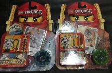 LEGO Ninjago Spinner 2174 Kruncha & 2175 Wyplash - New & Sealed