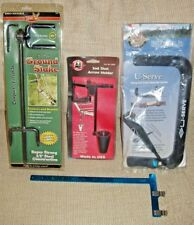 HME bow Ground Stakes & PINE RIDGE  Arrow Holder (for treestand),bow  square,++