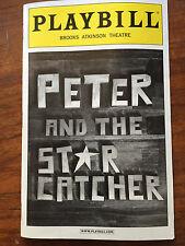 Peter and the Starcatcher playbill Adam Chanler-Berat Celia Keenan-Bolger NYC