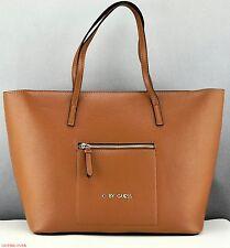 New Stylish 100% Original Handbag GUESS Satchel Tote Lash Ladies Cognag Bag
