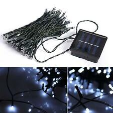 100/200 LED Solar Powered Christmas Xmas Tree Fairy String Lights Outdoor Garden