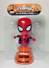 Spider man bobble Moving Arms & Head solar powered bobble