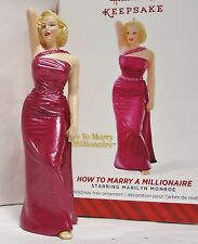 HALLMARK 2014 How to Marry a Millionaire Marilyn Monroe Ornament NEW in Box