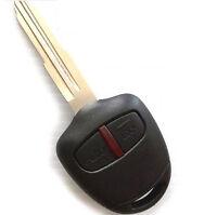 Fits Mitsubishi 2 Button Outlander Lancer Remote Transponder Key 433MHz MIT11