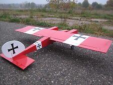 RC 1675mm Twin Cross WWI Flugzeug Flugmodell ARF 2x750KV oder 2x4ccm Balsa Holz