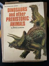 Dinosaurs And Other Prehistoric Animals Hardcover Book 1971