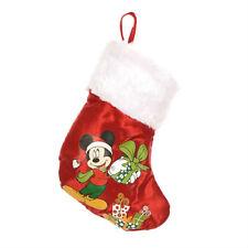 DISNEY mini chaussette de noël bébé MICKEY rouge 16,5 cm décoration sapin NEUVE