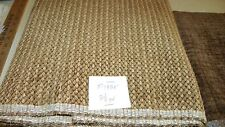 Brown Gold Tweed Fabric / Upholstery Fabric 1 Yard  F1335