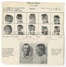 Wanted Notice - C.W. McElroy - Swindling - Rockdale, TX - 1939