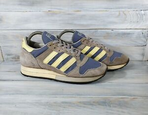 Vintage Adidas ZX 250 Sneackers Size 6.5 Made In France Retro Very Rare Mag