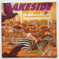 Lakeside Keep On Moving Straight Ahead LP Vinyl Record Original 1981 - EX / VG+