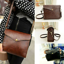 Retro Women Leather Shoulder Bag Satchel Handbag Tote Hobo Messenger Crossbody*