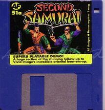 Amiga Format-Magazine coverdisk 51 A-Second Samurai < MQ >
